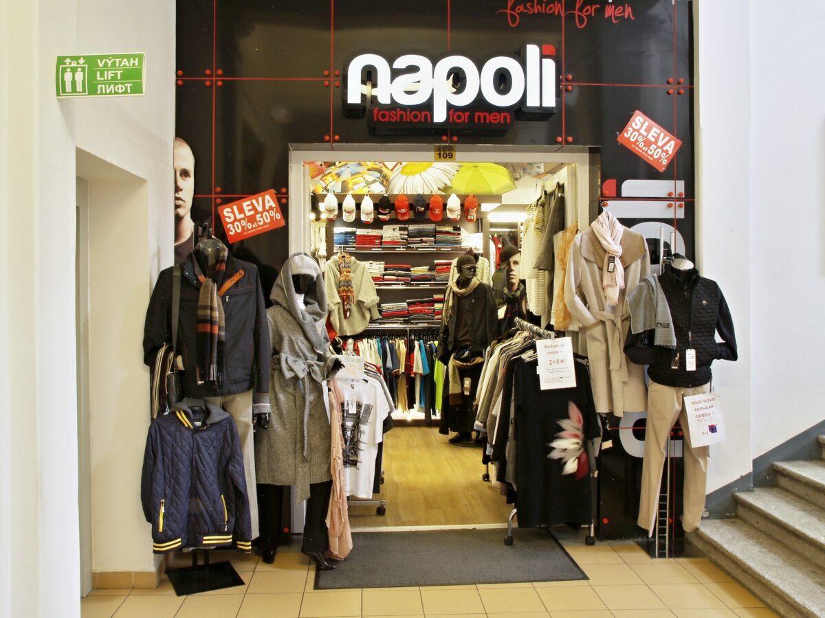 Napoli fashion for men, Karlovy Vary